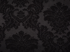 Tablecloths hire Damask - Black