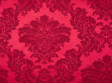 Tablecloths hire Damask - Burgundy