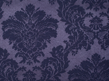 Tablecloths hire Damask - Dark Blue