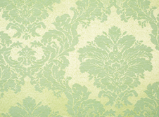 Tablecloths hire Damask - Lime