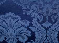 Tablecloths hire Damask - Marine