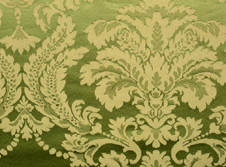 tablecloths hire Damask-Olive