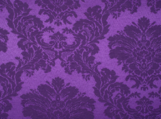 tablecloths hire Damask Purple
