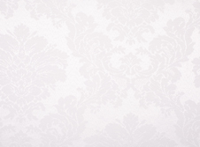 Tablecloths hire Damask - White