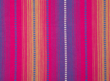 Tablecloths hire Indian-Cotton-Pink-Stripe