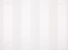 Tablecloths hire Satin Stripe - White