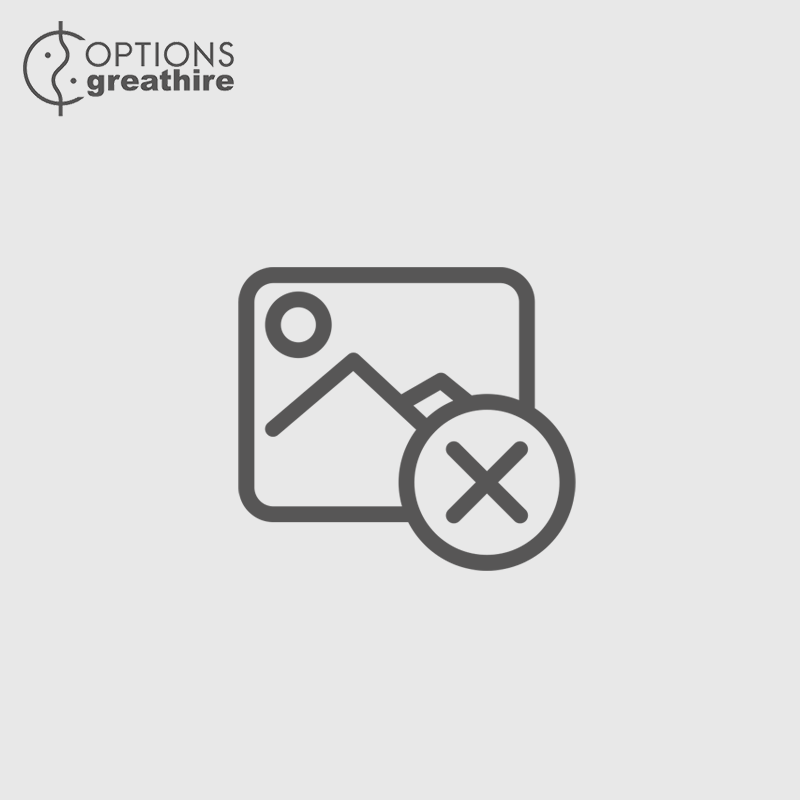Frosted glass champagne bucket Ø 20 x 23 cm