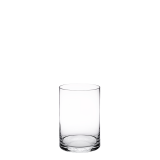 Cylinder glass riser Ø 15 x 20 cm