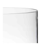 Cylinder glass riser Ø 25 x 30 cm
