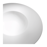 Mercure Karo Plate Ø 30 cm Container Ø 15 cm