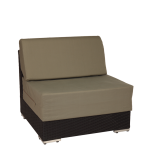 Taupe Woven Lounge Central Module L 31.49