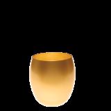 Gold tumbler Ø 9 cm H 9,5 cm 36 cl