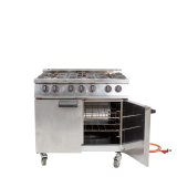 6 Ring Burner and Oven