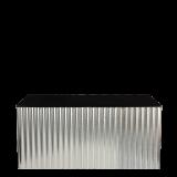 Corrugated Metal Folding Food Station L200 X W100 cm