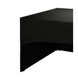 Folding Food Station Black Cover 3 Sides L200 X W100 cm