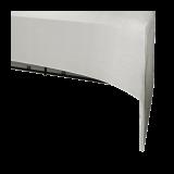 Folding Food Station White Cover 3 Sides L200 X W100 cm H 91 cm