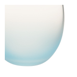 Bubble Frosted Blue Ø 6.5 cm H 6.5 cm 15 cl