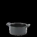 Porcelain Mini-Cooker Black Ø 7,2 cm H 3,5 cm 8 cl