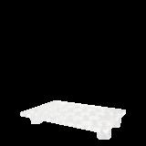 Legged Plexi Bubbles Tray 55 X 35 cm H 8 cm