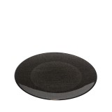 Glass Presentation Plate Black Ø 32 cm