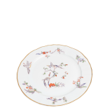 Vintage flowery small plate