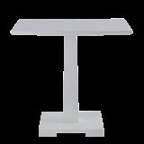 Square Bistro Café Table in White