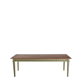 Sandstone Willow Dining Table in Sage