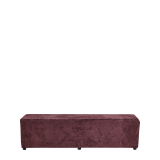 Rochelle Bench in Amethyst Purple Velvet