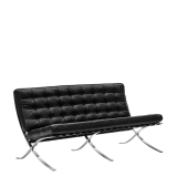 Barcelona Sofa in Black