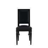 CKC Chair in Black with Black Seat Pad