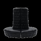 Fulcro Bourne Sofa in Black