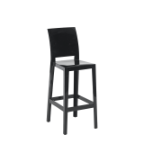 One More Please Bar Stool in Black