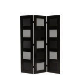 CKC Screen in Black with Colour Mix Panels