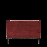 Dilano Sofa in Coral Red Velvet