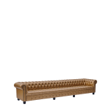 Chesterfield Sofa in Gold 13ft