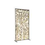 Unico Screen with Gold Strands
