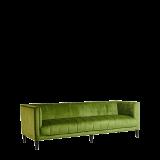 Hollywood Sofa in Kiwi Velvet