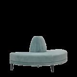 Infinito H Bullnose Sofa in Seafoam Green
