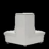 Fulcro Bourne Sofa in White
