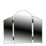 Curved Triple Fold Mirror