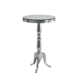 Milano Poseur Table with Mirror Top