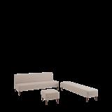 Sardinia Straight Sofa in Ivory