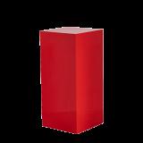 Seattle Plinth in Red L 18