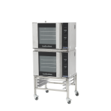 Double stack turbo oven