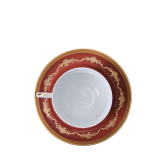 Imperial Red Tea Cup and Saucer 28 cl