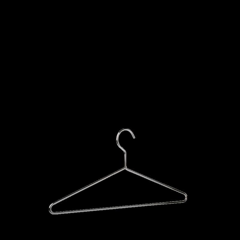 Chrome Coat Hanger