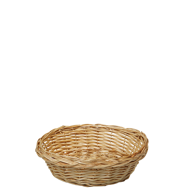 Wicker-Look Basket Ø 22 cm