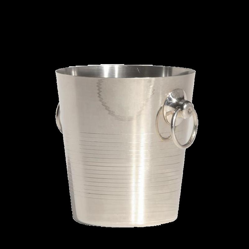 Silver Champagne Bucket Ø 20 cm H 20 cm