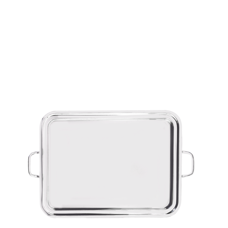 Stainless Steel Tray with Handles 47 X 60 cm