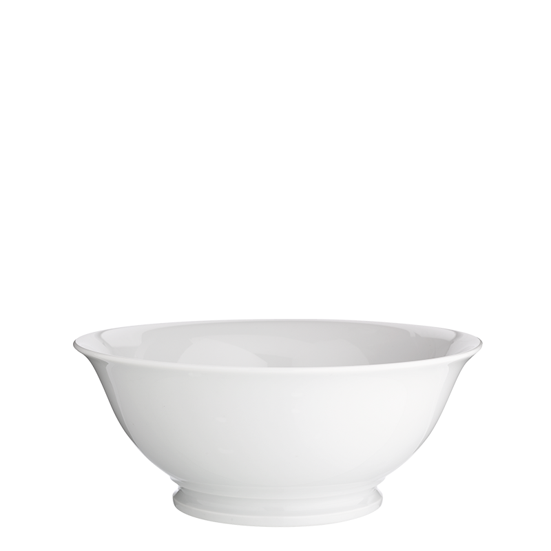 Salad Bowl White Ø 25 X 10 cm 200 cl